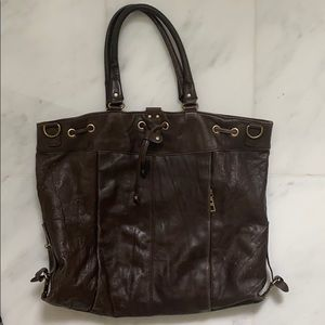 BCBG MaxAzria leather purse